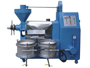 sunflower seeds oil expeller machine | oil processing